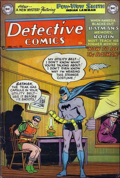 Detective Comics (1937) 190-A by DC