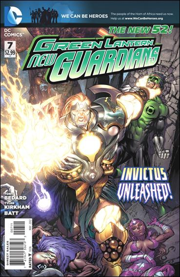 Green Lantern: New Guardians  7-A by DC