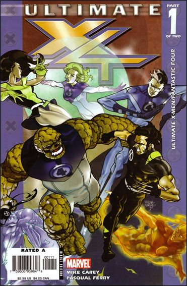 Ultimate X-Men/Fantastic Four 1-A by Marvel