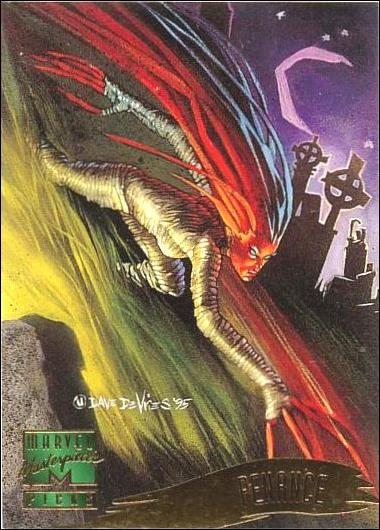 1995 Marvel Masterpieces (Base Set) 139-A by Fleer