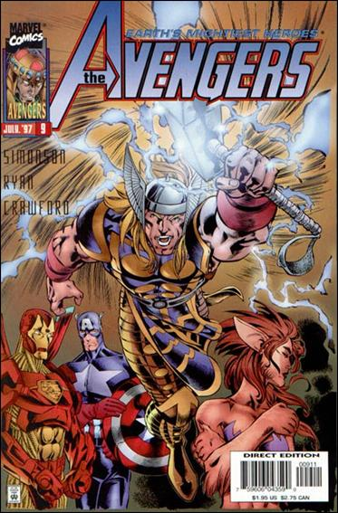 Avengers (1996)   9-A by Marvel