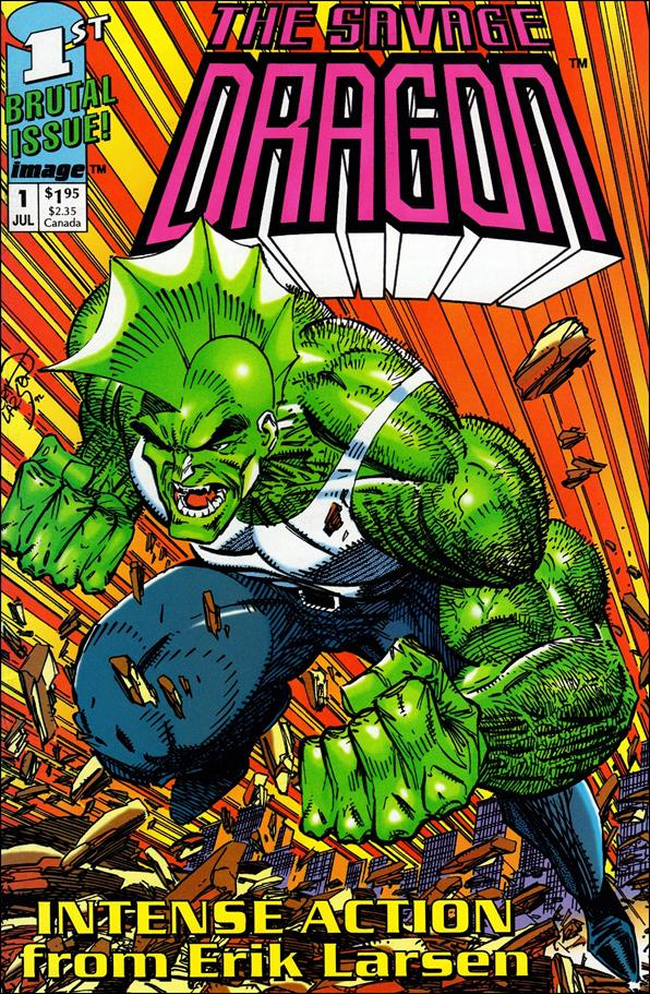 Savage Dragon (1992) 1-C by Image