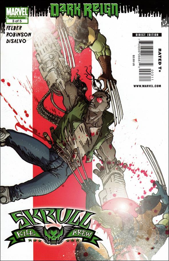 Skrull Kill Krew (2009) 3-A by Marvel