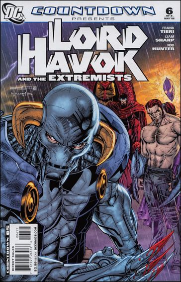 Countdown Presents: Lord Havok & the Extremists 6-A by DC