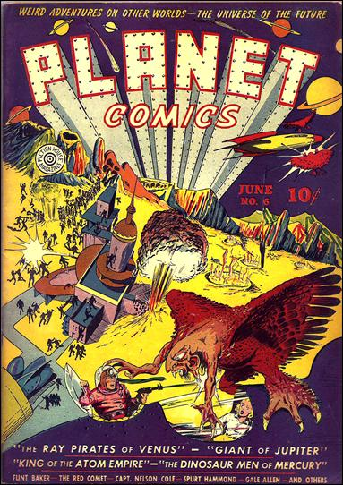 Planet Comics (1940) 6-A by Fiction House Magazines
