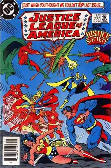 Justice League of America (1960) 232-A by DC