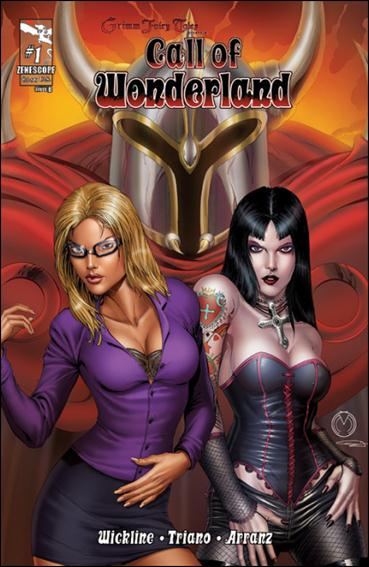Grimm Fairy Tales Presents Call of Wonderland 1-B by Zenescope Entertainment