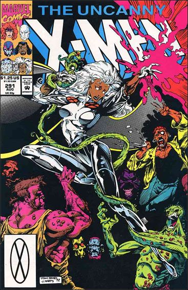 Uncanny X-Men (1981) 291-A by Marvel