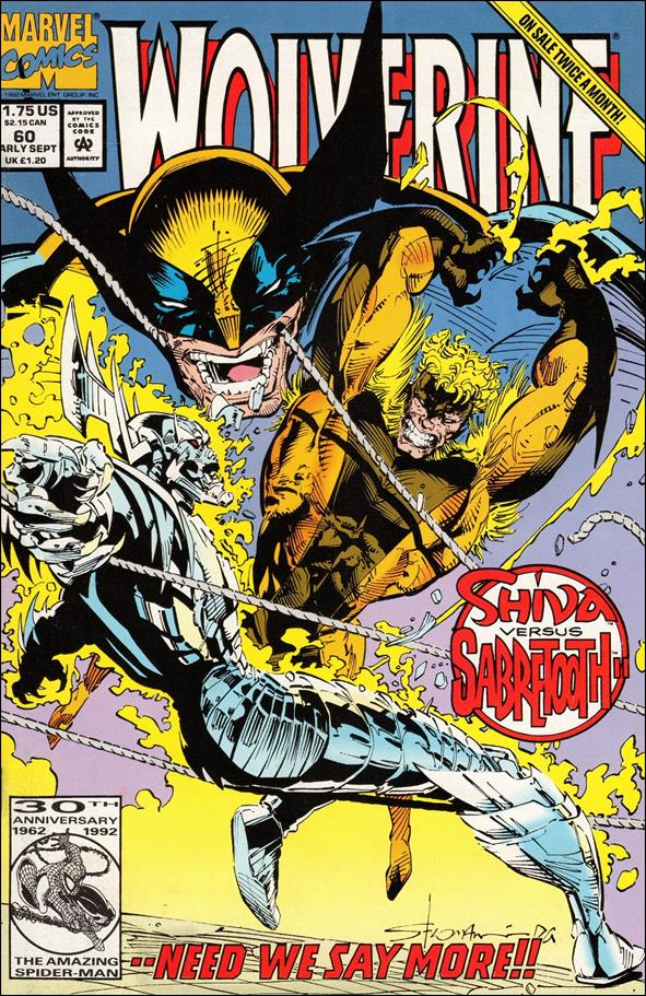 Wolverine (1988)  60-A by Marvel