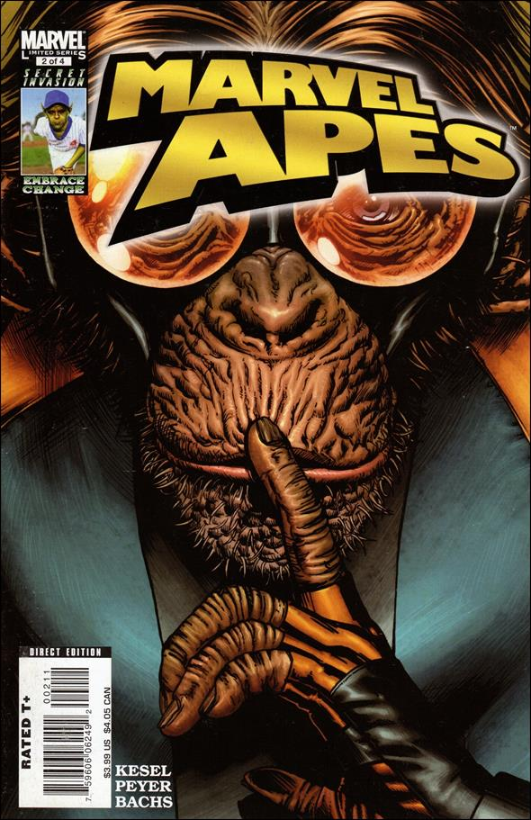 Marvel Apes 2-A by Marvel
