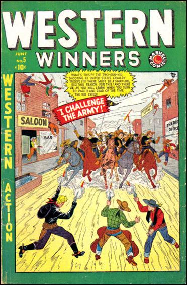 Western Winners 5-A by Marvel