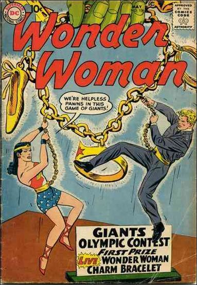 Wonder Woman (1942) 106-A by DC