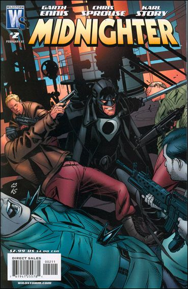 Midnighter 2-A by WildStorm