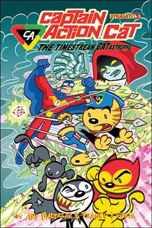 Captain Action Cat: The Timestream Catastrophe! 3-A