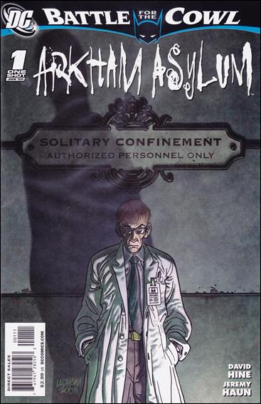 Batman: Battle for the Cowl: Arkham Asylum 1-A by DC