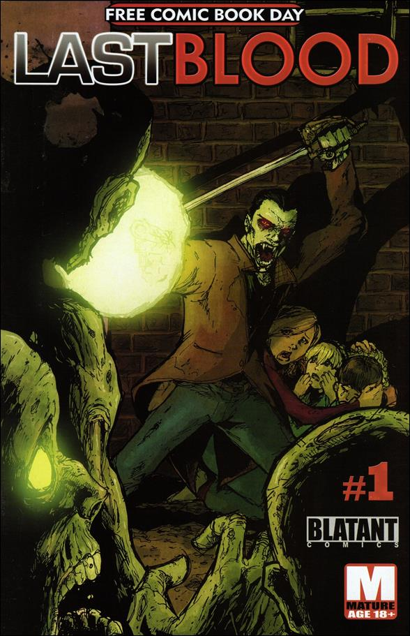Last Blood 1-A by Blatant Comics