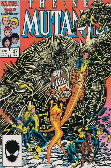 New Mutants (1983) 47-A by Marvel