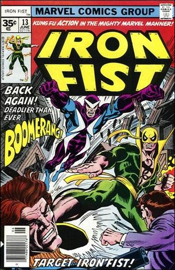 Iron Fist (1975) 13-B by Marvel