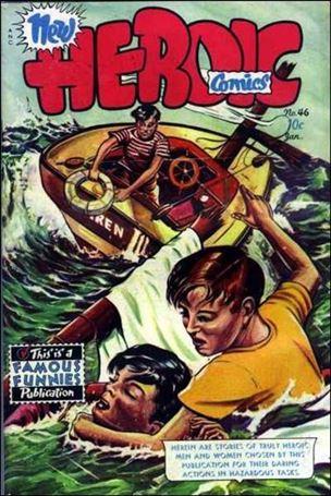 New Heroic Comics 46-A