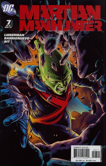Martian Manhunter (2006) 7-A by DC