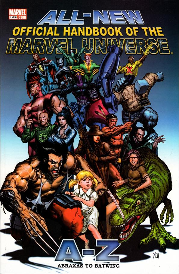 All-New Official Handbook of the Marvel Universe A to Z 1-A by Marvel