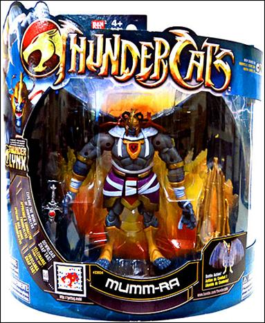 Thundercats  on Thundercats 4  Deluxe Series Mumm Ra  Jan 2011 Action Figure By