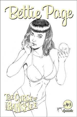 Bettie Page: The Curse of the Banshee 5-H