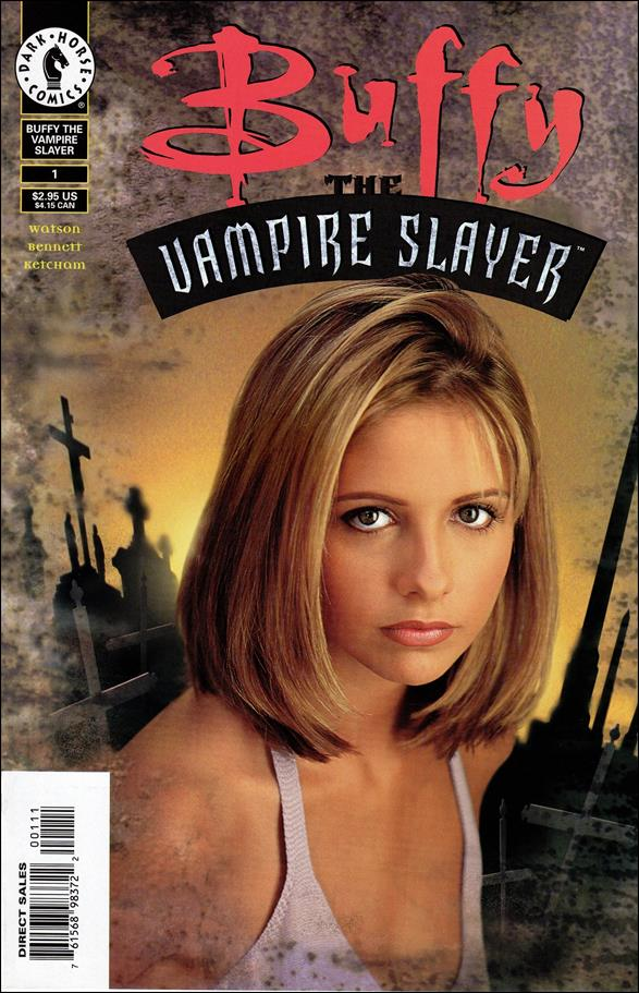 Buffy the Vampire Slayer 1-B by Dark Horse
