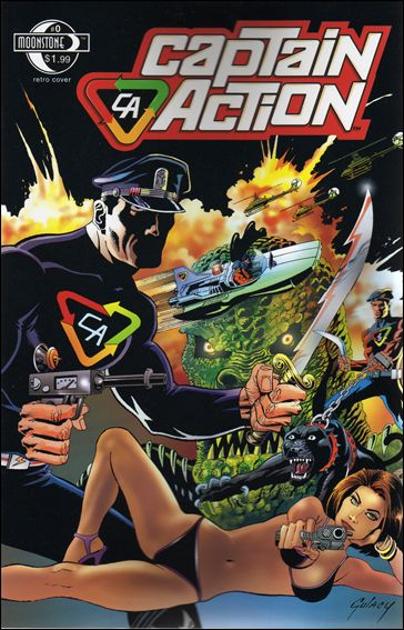 Captain Action Comics 0-A by Moonstone