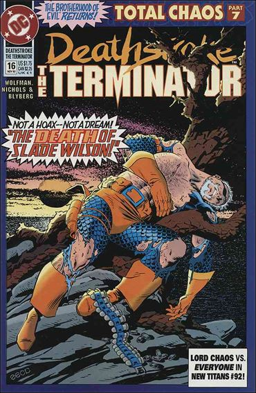 Deathstroke, the Terminator 16-A by DC