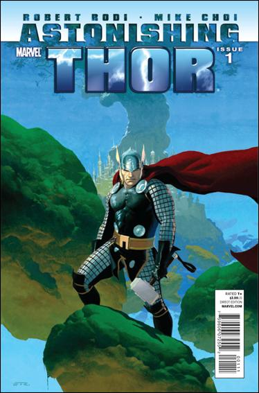 Astonishing Thor 1-A by Marvel