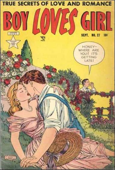 Boy Loves Girl 27-A by Lev Gleason Productions