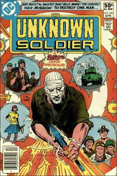 Unknown Soldier (1977)  250-A by DC
