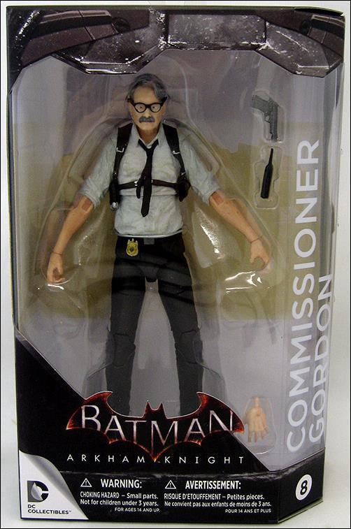 Batman: Arkham Knight  Commissioner Gordan by DC Collectibles