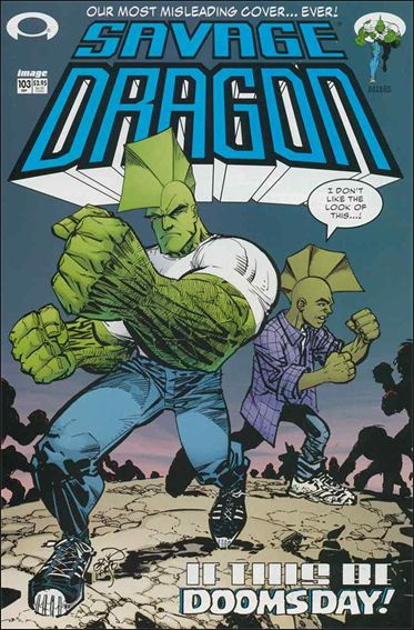 Savage Dragon (1993) 103-A by Image