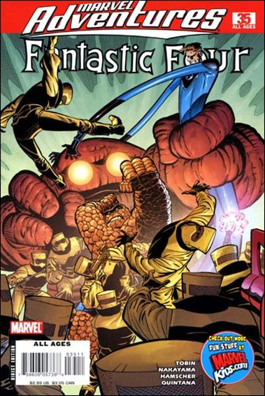 Marvel Adventures Fantastic Four 35-A by Marvel