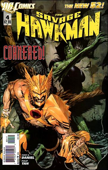 Savage Hawkman 4-A by DC