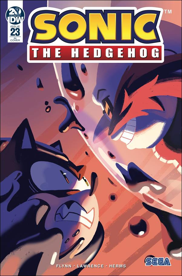Sonic the Hedgehog (2018) 23-C by IDW