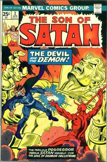 Son of Satan 3-A by Marvel