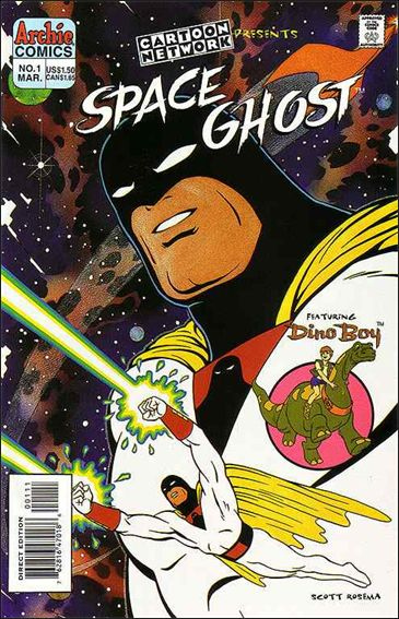 Cartoon Network Presents Space Ghost 1-A by Archie