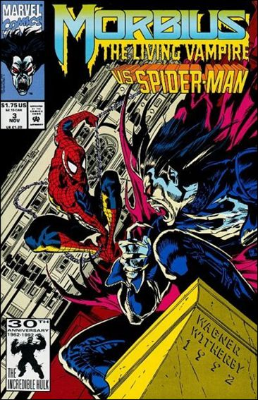 Morbius: The Living Vampire (1992) 3-A by Marvel