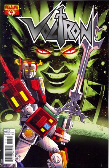 Voltron (2011) 4-B by Dynamite Entertainment