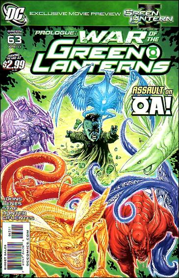 Green Lantern (2005) 63-A by DC
