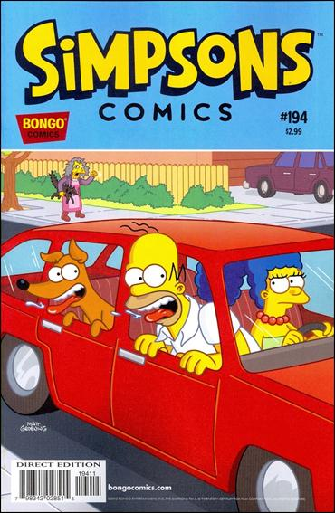 Simpsons Comics 194-A by Bongo