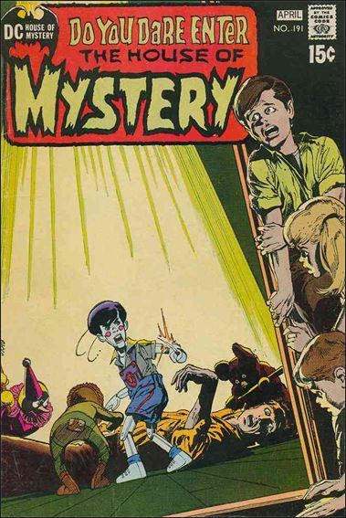 House of Mystery (1951) 191-A by DC