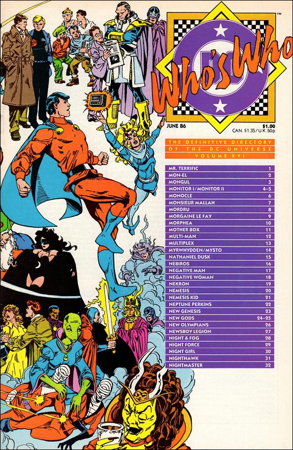 Who's Who: The Definitive Directory of the DC Universe 16-A by DC