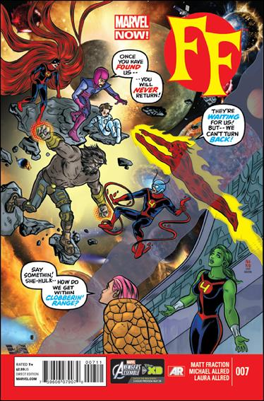 FF (2013) 7-A by Marvel