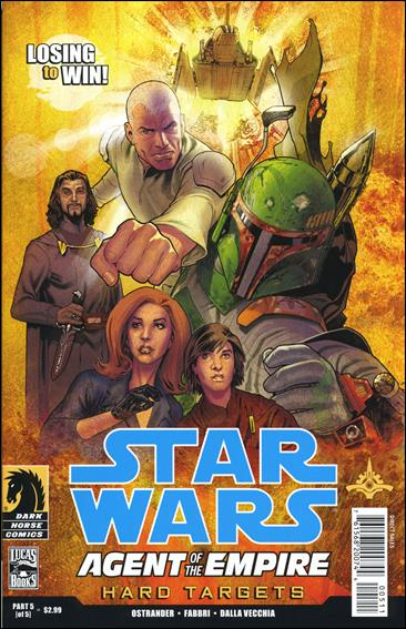 Star Wars: Agent of the Empire - Hard Targets 5-A by Dark Horse