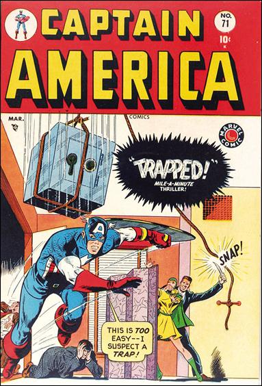 Captain America Comics (1941) 71-A by Timely