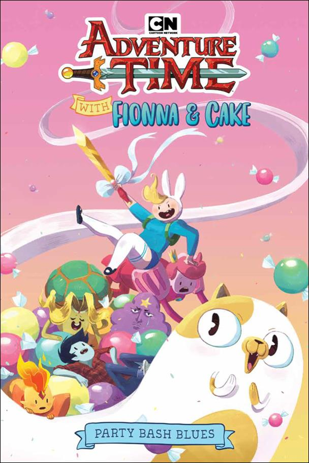 Adventure Time With Fionna & Cake: Party Bash Blues nn-A by Kaboom!
